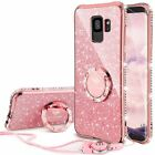 Samsung Galaxy S9+ PLUS Case protective Bling Diamond Glitter Bumper Rose Gold