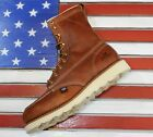 Thorogood 8 American Heritage MOC Soft Toe Wedge Boots 814 4201 Made in USA