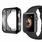 1-2 Apple Watch Series 1 2 3 PC Hard iWatch Case Cover Screen Protector 38/42mm