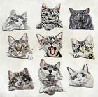 "(A) CAT KITTEN iron on pocket patches Choose Style - Roughly 2-1/2"" - 3"" each"