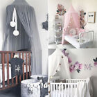 Kids Baby Bed Canopy Bedcover Mosquito Net Curtain Bedding Dome Tent Room Decor image