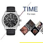 watch doc martin - Hannah Martin HM-2256 Casual Mens Quartz Wristwatch Leather Business Watch RE
