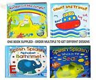 "Bath Book Baby Pack of 1 Floating Educational & Fun Bath Toy ""First Steps"""