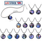 Fashion Twelve Constellations Stainless Steel Pendant Necklace Chain Jewelry 12#