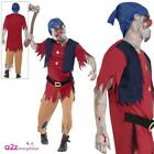 Mens Zombie Dwarf Costume + Mask Halloween Adult Fairytale Horror Fancy Dress