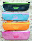 Nylon Colorful Dot pencil bag makeup bag Pen Case Cosmetics bag