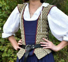 Renaissance Bodice side lacing SCA LARP Cosplay costume - MADE TO ORDER