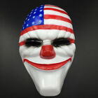 2018 Halloween PAYDAY 2 Dallas Mask Heist Joker Costume Props Cosplay Mask Decor