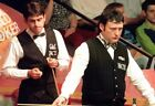 JIMMY WHITE 29 WITH RONNIE OSULLIVAN (SNOOKER PRINTS) KEYRINGS-MUGS-PHOTO PRINTS