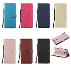 Synthetic Leather Kickstand Flip Simple Card Slot Stand Case Cover For Huawei