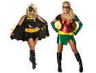 Adult Ladies Sexy Robin Costume Outfit Comics Fancy Dress Women's Party Dress