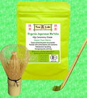 JAPANESE CEREMONIAL MATCHA Green Tea Powder, ORGANIC, Whisk,Scoop,Spoon,ceremony