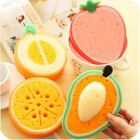 1Pcs Lovely Scouring Pads Fruits Sponges & Scouring Fruits House Hold Cleaning A