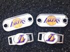 2 ~ Los Angeles Lakers NBA Paracord Charms Oval or Mini Dog Tag shoelace charms on eBay