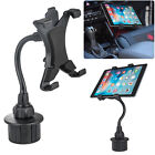 "360° Car Cup Holder Mount Holder For 7-10"" iPad Mini/2/4/5/Air Samsung Tablet"