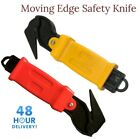 Moving Edge Safety Knife | Box Opener | Tape Cutter | Shrink Wrap Knives