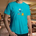 Adventure Time Finn and Jake Dancing Cute Cartoon Dance Mens Unisex Tee T-Shirt