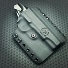 Tactical OWB BLACK Kydex Holster for Glock, Sig, Springfield, Ruger & S&W 2AGW