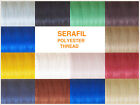 'SERAFIL 10' POLYESTER THREAD, 20 M, IDEAL FOR LEATHER WORK, VARIOUS COLOURS