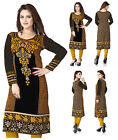 UK Unifiedclothes®️ New Printed Tunic Pakistani Long Kurti Kurta Top Dress 113D