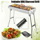 Folding BBQ Charcoal Barbecue Grill Garden Picnic Outdoor Stainless Steel Stove