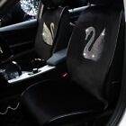 Fashion Diamond Swan Car Seat Cover Plush Auto Universal Accessories Interior