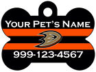 Anaheim Ducks Custom Pet Id Dog Tag Personalized w/ Name & Number $9.87 USD on eBay