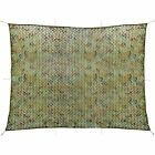 Camouflage Net with Storage Bag hunting Camo Netting Net Woodlands Leaves