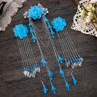 Vintage Jewelry Chinese Tassel Hair Clip Hair Stick Hairpin And Earrings