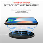 Qi Wireless Charger Fast Charging Pad For Samsung Note 8 S8+ iPhone X 8/8 Plus