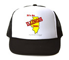 Trucker Hat Cap Foam Mesh It's An Illinois Thing You Wouldn't Understand State