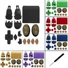 PS4 Replacement Mod Kit + Gold Bullet Buttons & Thumbs for PS4 V3 Controller