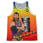 Official WWE Authentic Razor Ramon Fanimation Tank Top Yellow <br/> Official eBay store of WWE