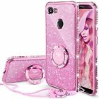 For Google Pixel 2 XL Case Heavy Duty Protection Cover Shiny Bling Diamond Pink