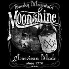 Smoky Mountain Moonshine American Made 1776 Outlaw Whiskey T-Shirt #586