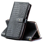 Retro Crocodile Flip PU Leather Wallet Case Cover Card Slot For Umi New Phones