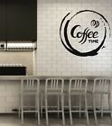 Vinyl Decal Lose everything Sticker Coffee Time Decor Kitchen Cafe Home Interior (g038)