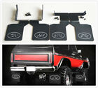 Front/Rear Mud Flaps Rubber Fender For 1/10 RC Traxxas TRX4 Ford Bronco Ranger