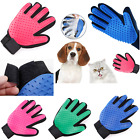 Hot Pet Dog Cat Hair Brush Comb Mitt Fur Cleaning Massage Grooming Supply Gloves