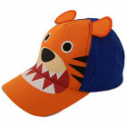 Внешний вид - ABG Accessories Toddler Boys Baseball Cap - Assorted Critter Designs, Age 2-4