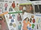 Lot 29 Sewing Patterns L XL Size Clothes Simplicity McCalls Clothing Dress Women