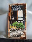 Vintage Buenos Aires Tango Argentino Hand Painted Tiles Plaques wall hangings