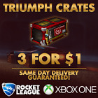 [XBOX ONE] Rocket League Triumph Crates! 3 for $1! $7.99 USD on eBay
