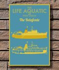 ZA626 Wes Anderson's The Life Aquatic Custom Poster Hot 40x27 36x24 18inch