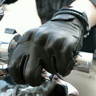 BLACK LEATHER RETRO CLASSIC VINTAGE WEISE VICTORY MOTORCYCLE CHOPPER GLOVES $68.92 USD on eBay