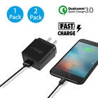 Quick Charge QC3.0 Wall 1 USB Fast Travel Charger Adapter US Plug For Cell Phone