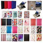 Hanbaili 9.7 Inch Tablet Universal Rotating Case Cover Wallet with Card Slots