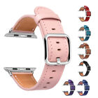 Lady's Genuine Leather Wristband Strap For Apple Watch Series 3 2 1 42mm 38mm