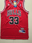 Chicago Bulls #33 Scottie Pippen Red Basketball Jersey Size: S - XXL on eBay