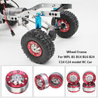 Diy Upgrade Metal Wheel Frame Spare Parts Set For Wpl 1/16 Rc Car Military Truck